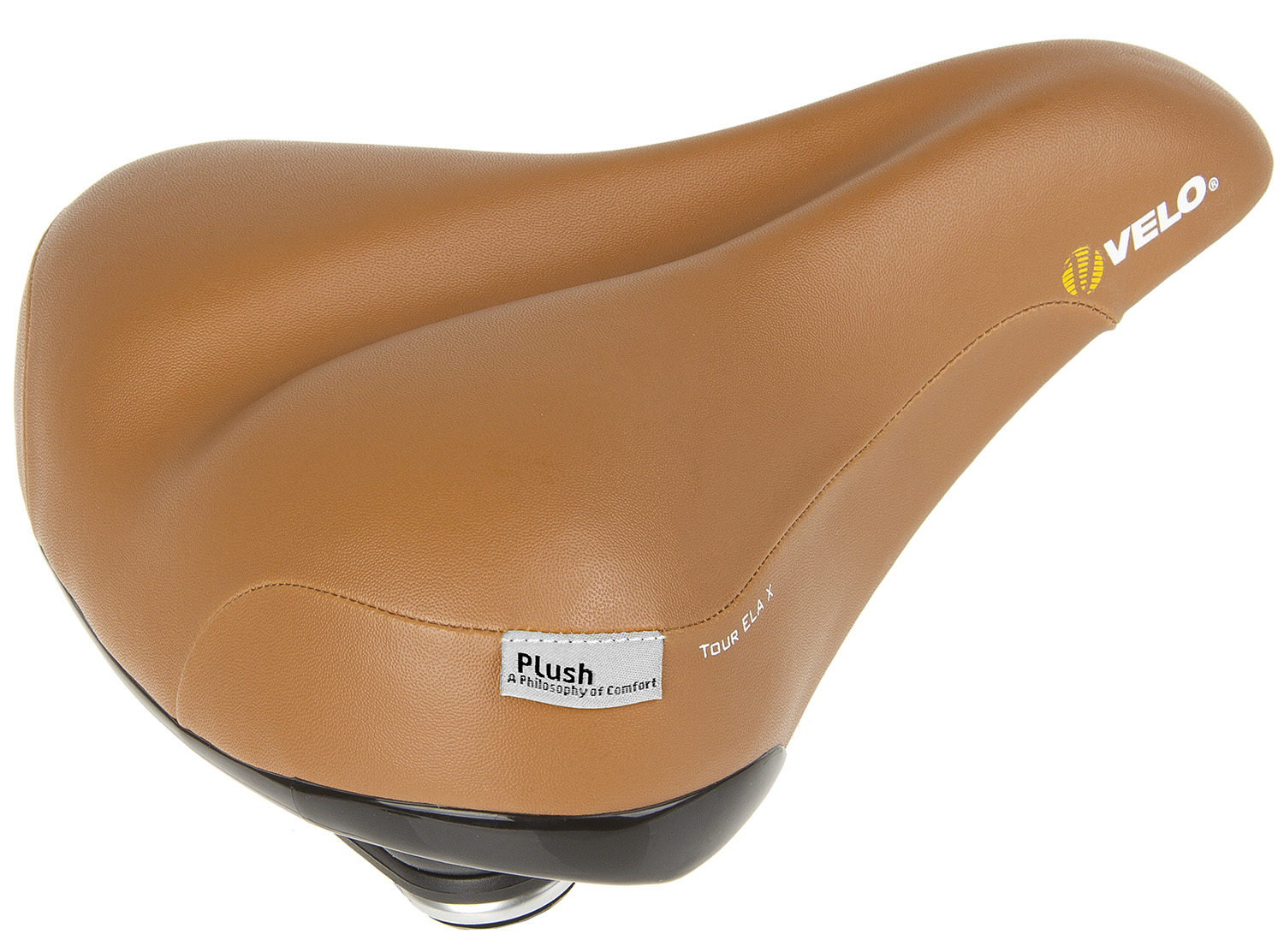 Saddle Velo Plush Brown