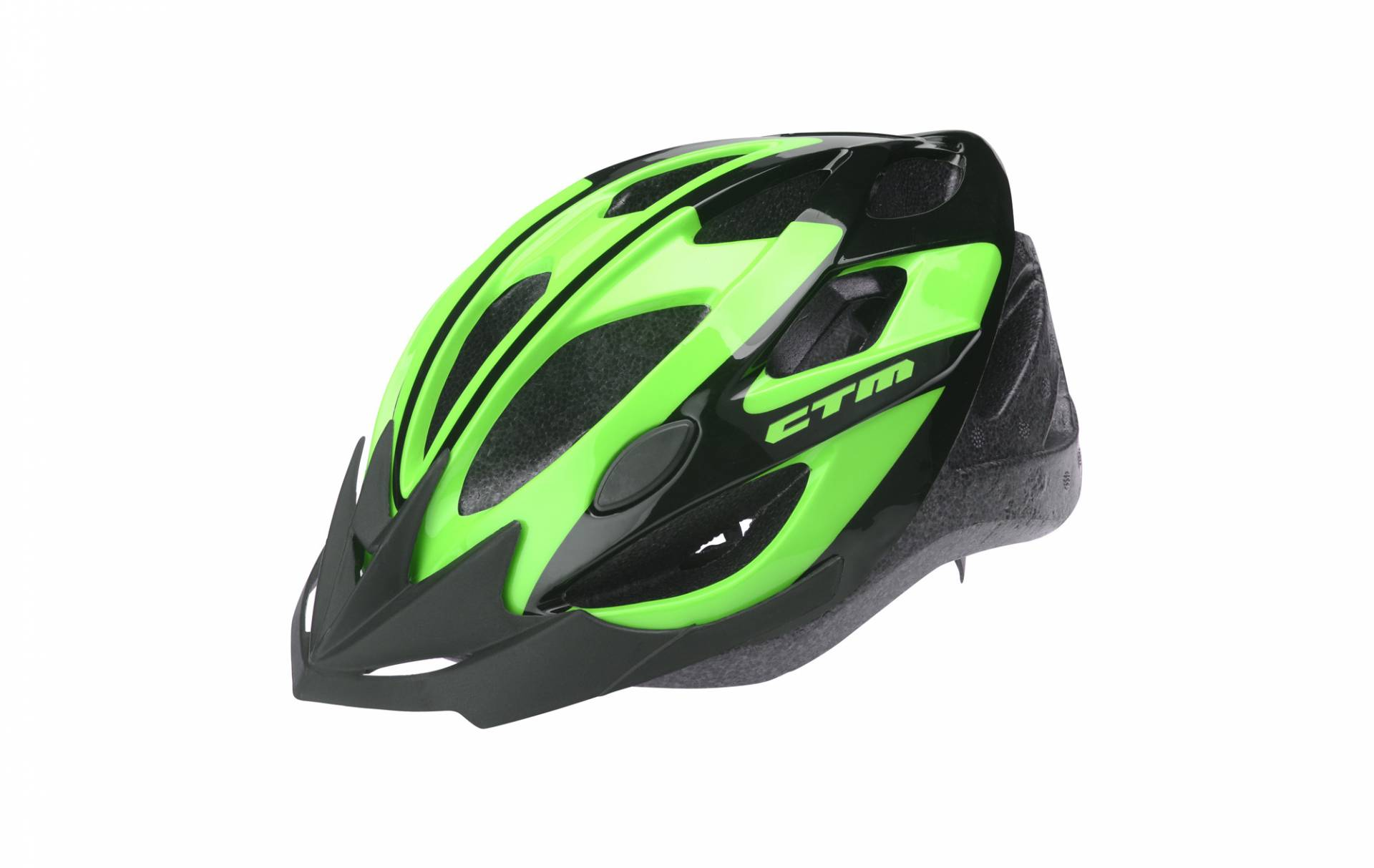 Kiiver CTM SLASH, black-green, M